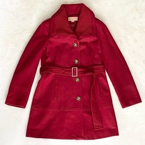 Michael Kors Wool Blend Coat